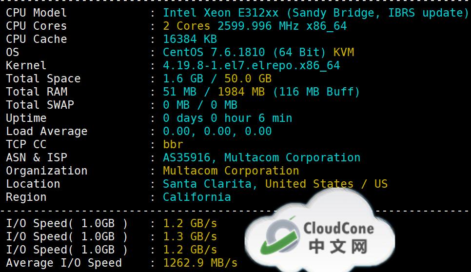 #三周年#CloudCone新用户: 高主频CPU和企业级SSD VPS - CloudCone - CloudCone中文网,国外VPS,按小时计费,随时退款